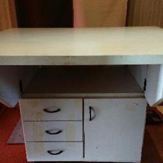 食器棚 テーブル 台所 折り畳み