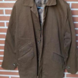 ◆KNOT◆ブラウンカラー渋い◆綿仕立ての◆ジャケット・コート◆