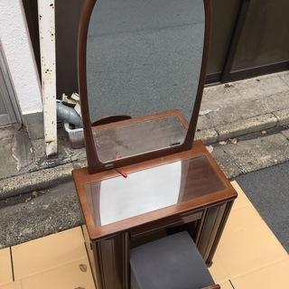 大塚家具化粧台 ドレッサー 鏡 セーラー 家具