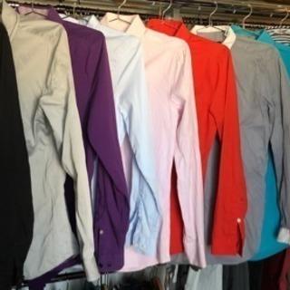 H&MのメンズシャツXS 6枚 + スーツカンパニーなどS 4枚