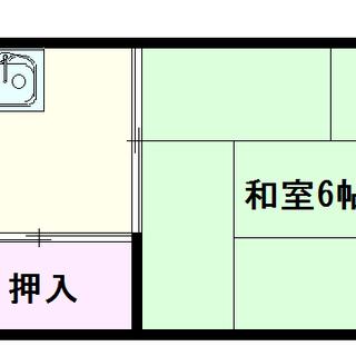 【宮本荘】2号タイプ!1Kタイプ!セカンドルームにぴったり☆