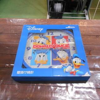 【J-853】 Disney 壁掛け時計 ドナルドダック