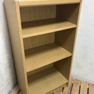 棚板高さ変更可能なカラーボックス