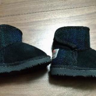 【値下げ】ハリスツイード Harris Tweed ショートブーツ