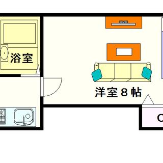 【NK元町ハイム】2号タイプ!1Kタイプ!オール電化で光熱費を節約☆
