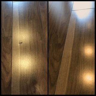 扉の穴 床の凹み サッシや玄関扉の補修承ります!