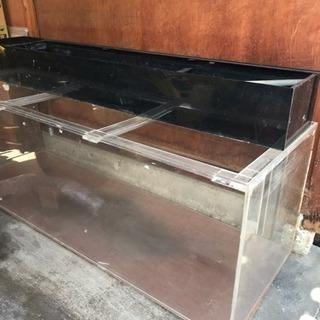 大型水槽 180x60x60 厚さ10mm