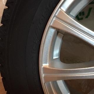 日産マーチ スタッドレスタイヤホイール4本セット