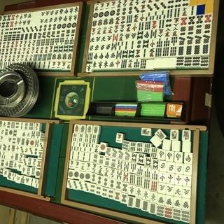 全自動麻雀卓 センチュリー21 NEXT 牌、椅子、サイドテーブ...