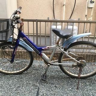 中古 24インチ ブリヂストン自転車