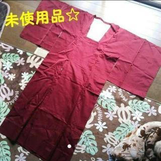 【未使用品】着物用雨コート 赤色