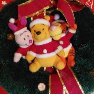 クリスマスリース プーさん