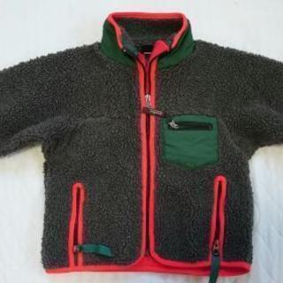 キッズgray bearのフリースジャケット