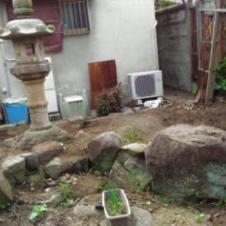 庭石 その2 手水鉢・石灯籠