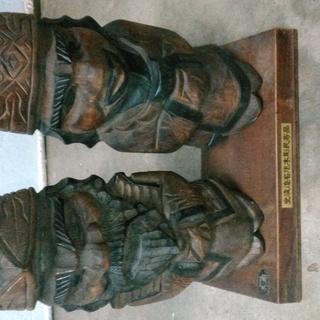 アイヌ 木彫りニポポ人形 手彫り