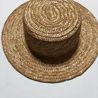 麦わら帽子サイズ52cm