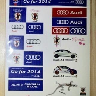 新品 Audi アウディ♪ワールドカップ サッカー 日本代表 な...
