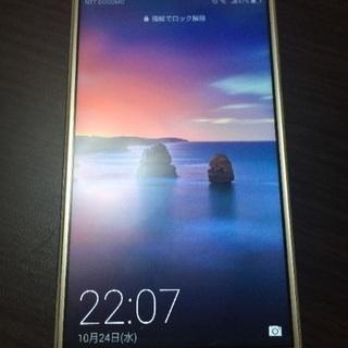 【取引中】値下美品 Huawei novalite ゴールド S...