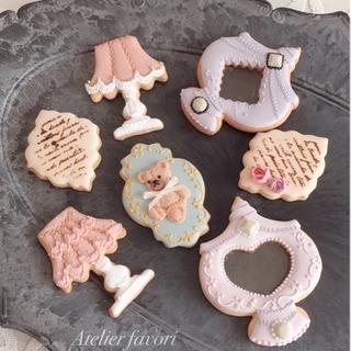 アイシングクッキーレッスン「antique」募集