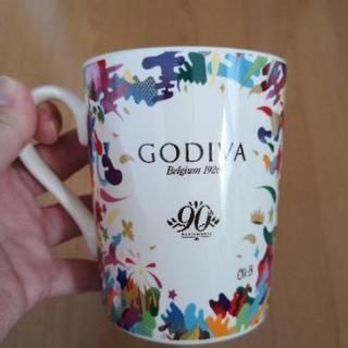 ゴディバ90周年記念限定マグカップの画像
