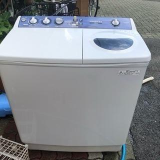 二層式洗濯機中古  無料