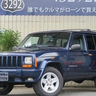Jeep Cherokee Ltd 4WD アメ車も自社ローン