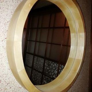 和風モダン壁掛け鏡