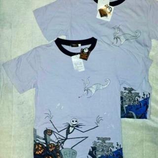新品 ナイトメア ビフォアクリスマス♪ラメ Tシャツ F