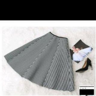 韓国インポート 特殊素材 フレアスカート