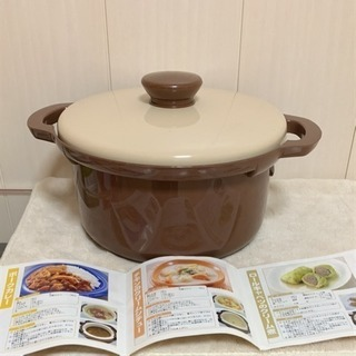 10分チンするだけでカレー!レンジでかんたん保温調理鍋