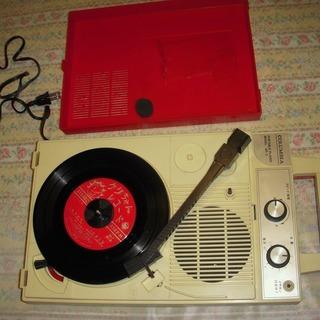 COLUMBIA GP-3 ポータブルレコードプレイヤー