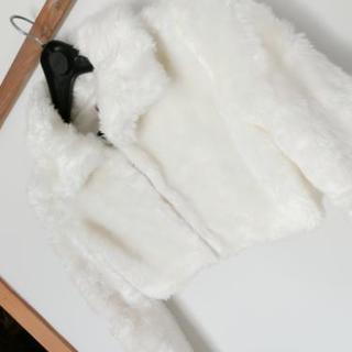超美品☆LIZ LISA リズリサ もこもこ フェイクファージャケット