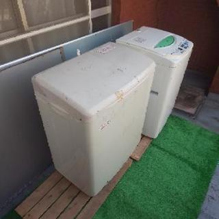 二層式洗濯機、ほとんど使ってない中古品、配達込み3500円