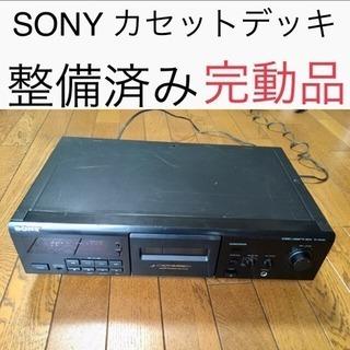 SONY カセットデッキ