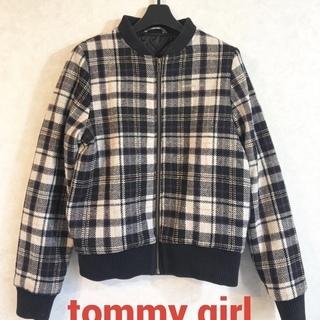 Tommy Girl  チェック柄ブルゾン ロングスカートに合わ...