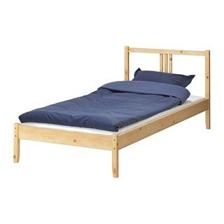 お値下げ!!IKEA シングルベッド
