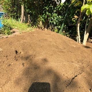 庭土、無料で差し上げます☆     真砂土 まさ土