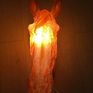 値下げしました!馬の壁掛け照明