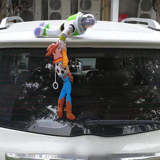 ウッディー バズ セット トイストーリー 人形 車載 レア!