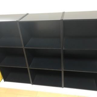 カラーボックス、本棚
