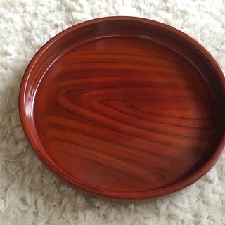 木目 丸おぼん(和歌山県、紀州漆器)