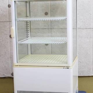 R155)サンデン SANDEN 卓上ドリンクケース 4面ガラス...