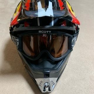 ski-doo  スキードゥ  ヘルメット ゴーグルセット XL