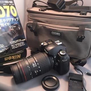 【お話中】ニコン デジタル一眼レフカメラ D70 ズームレンズ付き