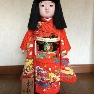 翆新作 京仕立 ガラスケース付き市松人形 美品