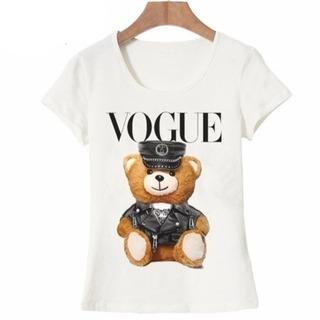 Vogue くま Tシャツ
