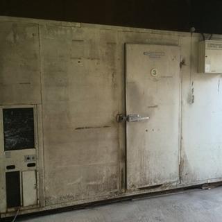 (現状引取り)2坪、プレハブ冷蔵庫 業務用冷蔵庫 大型冷蔵庫