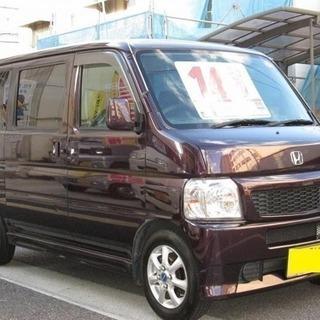 コミコミ『14.6万円』車検付 バモス オートマ 箱バン 軽バン
