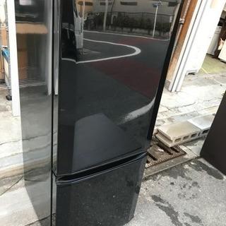 冷蔵庫 三菱 1人暮らし用 2ドア 2015年 146L MR-P...