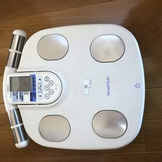 体重計 OMRONオムロン 体重体組成計HBF-903 体重計 ...